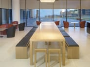 Oak table CLOSED | Table - Andreu World