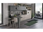Linear fitted kitchen CLOVER 03 - Cucine Lube