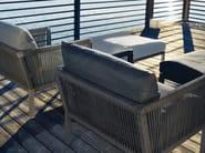 Garden armchair with armrests CLUB | Armchair with armrests - solpuri