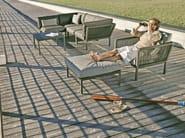 Poltrona da giardino con braccioli CLUB | Poltrona con braccioli - solpuri