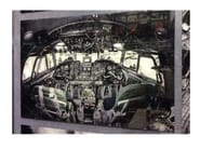 Photographic print / Print on glass COCKPIT VIEW - KARE-DESIGN