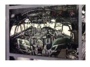Stampa fotografica su vetro COCKPIT VIEW - KARE-DESIGN