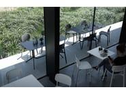 Stackable polypropylene chair COLANDER | Chair - Kristalia