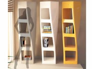 Freestanding double-sided Adamantx® bookcase COLLINS - ZAD ITALY