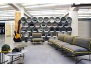 Sectional modular garden sofa COLORADO | Sectional sofa - Varaschin
