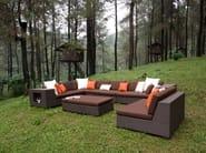 Modular garden sofa COLTRANE | Modular sofa - 7OCEANS DESIGNS