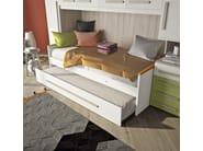Bedroom set with bridge wardrobe COMPOSITION 10 - Mottes Mobili