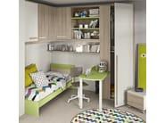 Bedroom set with bridge wardrobe COMPOSITION 15 - Mottes Mobili