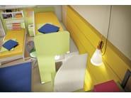 Loft bedroom set COMPOSITION 29 - Mottes Mobili