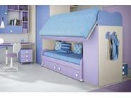 Loft bedroom set COMPOSITION 34 - Mottes Mobili