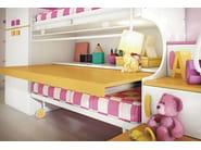 Loft bedroom set COMPOSITION 35 - Mottes Mobili