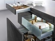 Cucina con isola CONCRETE-A - LEICHT Küchen