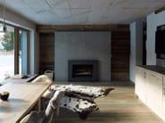 Indoor concrete wall/floor tiles CONCRETE SKIN | Wall/floor tiles - RIEDER
