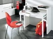 Console table / secretary desk CONSOLE DESK 09 | Lacquered console table - Woodman