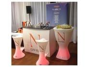 Polyethylene vase / table base COPA HIGH FLOWERPOT - Lamalva
