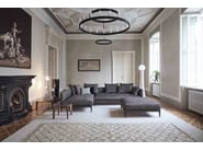 Upholstered fabric sofa CORAL - Bonaldo