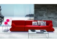 Sectional fabric sofa CORAL - Oliver B.