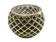 Stained glass candle holder CORDOBA B&G RAUTE - KARE-DESIGN