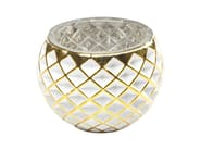 Stained glass candle holder CORDOBA W&G RAUTE - KARE-DESIGN
