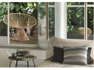 Tanned leather easy chair CORDULA | Tanned leather easy chair - MissoniHome