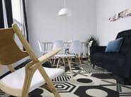 Glazed stoneware flooring COREBASICS | Flooring - ORNAMENTA