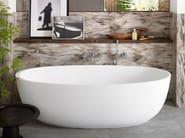 Vasca da bagno centro stanza ovale in Corian® CORIAN® DELIGHT 8430 - DuPont de Nemours Italiana - DuPont ProtectionSolutions