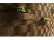 Cork sound insulation panel CORKWAVE - TECNOSUGHERI