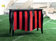 Rounded sideboard tailormade timber surface - Football Collection - Modenese Gastone