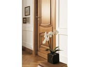 Solid wood door CORNICI - LEGNOFORM