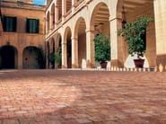 Cement outdoor floor tiles with stone effect CORTE - FAVARO1