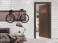 Hinged door with concealed hinges CORTEN - Bertolotto Porte