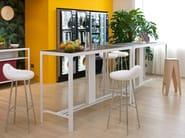 Tavolo alto rettangolare BANCONCINO - ESTEL GROUP