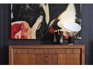 Walnut sideboard with doors SCACCHI | Walnut sideboard - Morelato