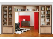 Wooden sideboard with doors SCACCHI | Wooden sideboard - Morelato