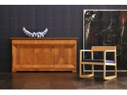Cherry wood sideboard with doors BIEDERMEIER | Sideboard - Morelato