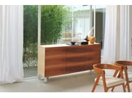 Wooden sideboard with doors SHERWOOD | Sideboard - Morelato