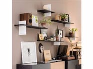 Wooden wall shelf CROSS - Cattelan Italia
