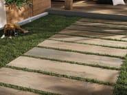 Porcelain stoneware outdoor floor tiles with wood effect CROSS WOOD 20 MM | Outdoor floor tiles - Panaria Ceramica