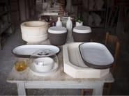 Ceramic serving bowl CRUDO | Serving bowl - Atipico