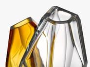 Blown glass vase CRYSTAL ROCK | Vase - Lasvit