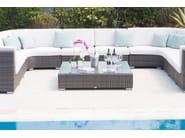 Tavolino basso da giardino per contract CUATRO PACIFIQUE 2134 - SKYLINE design