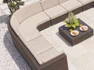Modular garden sofa CUATRO PACIFIQUE | Sectional sofa - SKYLINE design