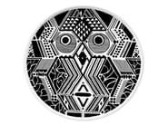 Piatto piano in ceramica CULTURES MUDEC VI - Kiasmo