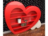 Libreria autoportante in Adamantx® CUORE - ZAD ITALY