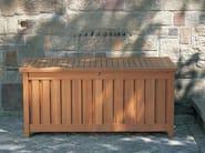 Teak garden storage box CUSHION BOX | Teak storage chest - FISCHER MÖBEL