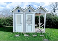 Wooden Garden shed Changing room - Garden House Lazzerini
