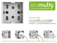 Multiple electrical outlet MULTY - Simon Urmet