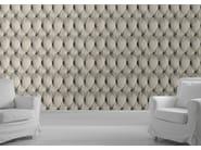 Wallpaper CREAM CHESTERFIELD BUTTON BACK - Mineheart