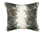 Rectangular outdoor fabric cushion Cushion Rayure fleurie - Tectona