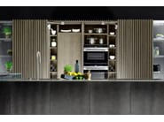 Fitted kitchen with island D90/12-D90/TP - TM Italia Cucine
